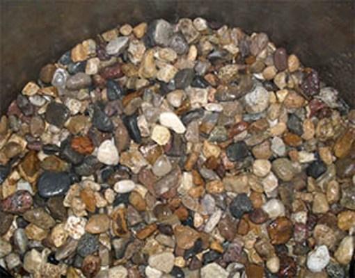 Камни для колодца.